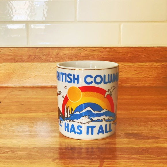 ⭐️BOGO 80s British Columbia Canada Mug